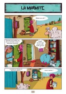 Extrait de Les contes en bandes dessinées - Contes arabes