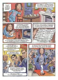 Extrait de La face karchée de Sarkozy -4- Carla & Carlito ou la Vie de château