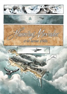 Extrait de Hannibal Meriadec et les larmes d'Odin -1- L'Ordre des cendres