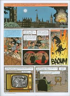 Extrait de Lefranc -19- Londres en péril