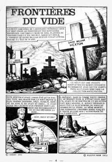 Extrait de Sidéral (2e série) -23- Frontières du vide