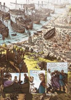 Extrait de Les voies du Seigneur -1- 1066 - Hastings