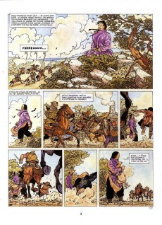 Extrait de Maître Chang -1- Les brigands