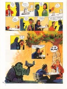 Extrait de Les amis de Saltiel -1- L'homme qui n'aimait pas les arbres