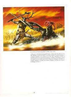 Extrait de Le trône de fer - Art et illustrations