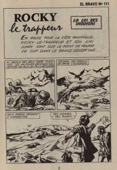 Extrait de El Bravo (Mon Journal) -111- La loi des Shoshoni