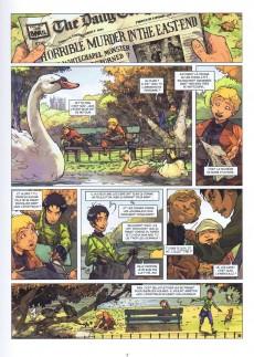 Extrait de Les quatre de Baker Street -2- Le dossier Raboukine
