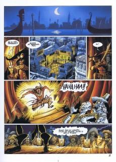 Extrait de De Cape et de Crocs -1- Le secret du Janissaire