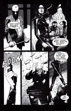 Extrait de Crow (The): Flesh & Blood -1- Flesh & Blood 1