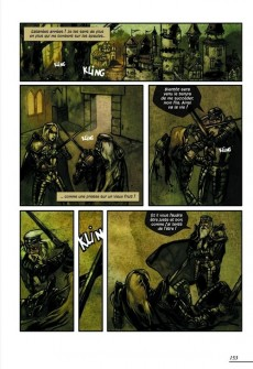 Extrait de Les contes en bandes dessinées - Contes et légendes du Moyen-Âge