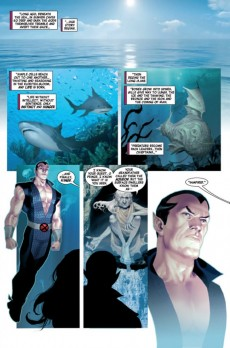 Extrait de Namor: The first mutant (2010) -1- Royal blood (Part 1)