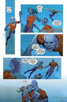 Extrait de Namor: The first mutant (2010) -2- Royal blood (Part 2)