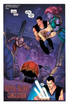 Extrait de Namor: The first mutant (2010) -4- Royal blood (Part 4)
