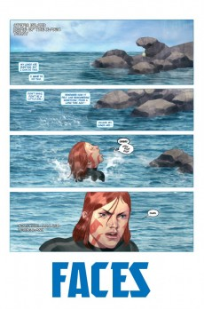 Extrait de Namor: The first mutant (2010) -5- Faces