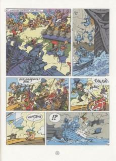 Extrait de Godaille et Godasse -3- Hussard à la mer