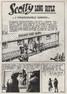 Extrait de Long Rifle -40- L'insaisissable Gordon