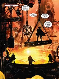 Extrait de ABC Warriors (Soleil) -3- La Guerre Volgan 3/4