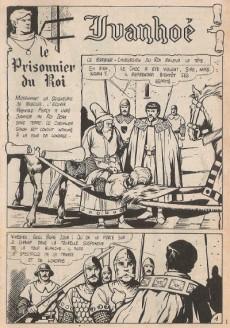 Extrait de Ivanhoé (1e Série - Aventures et Voyages) -56- Le prisonnier du roi