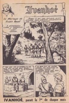 Extrait de Ivanhoé (1e Série - Aventures et Voyages) -45- Le mariage de Robin Hood