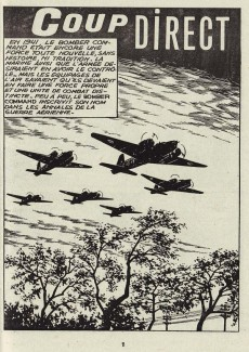 Extrait de Rapaces (Impéria) -384- Coup direct - Buffalo dans le ciel