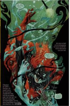 Extrait de Batwoman (2011) -3- Hydrology part 3 : gaining stream