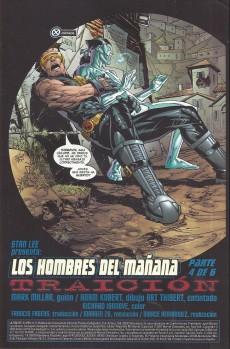 Extrait de Ultimate X-Men (en espagnol) -3- Los hombres del mañana (4 & 5)
