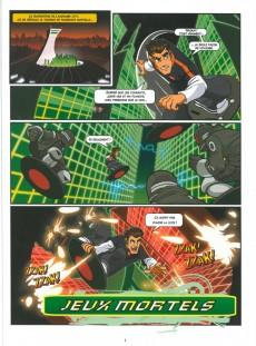 Extrait de Action Man Atom -1- Jeux Mortels
