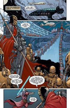 Extrait de Star Wars: Knights of the Old Republic (2006) -20- Issue 20