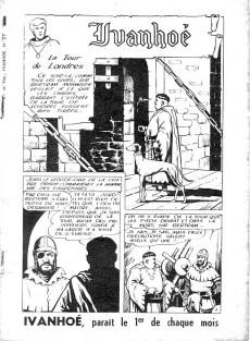 Extrait de Ivanhoé (1e Série - Aventures et Voyages) -37- La tour de Londres