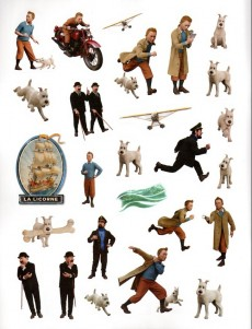 Extrait de Tintin - Divers -AJ- Tintin - jeux, énigmes et autocollants