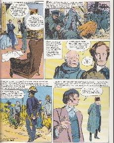 Extrait de Histoire de France en bandes dessinées -19- La Révolution  de 1848, le second empire