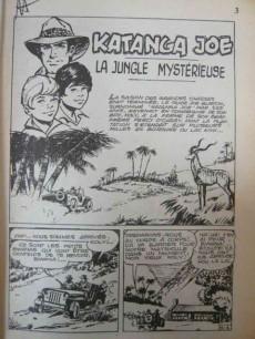 Extrait de Safari (Mon Journal) -1- La jungle mystérieuse
