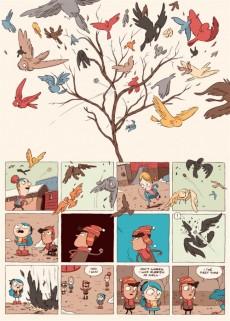 Extrait de Hilda (Luke Pearson) -3- Hilda et la parade des oiseaux