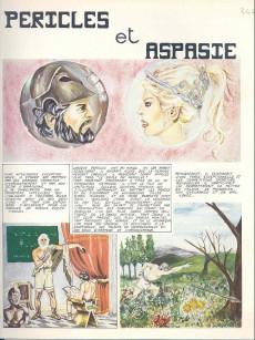 Extrait de Les amours de l'histoire -32- Péricles et Aspasie