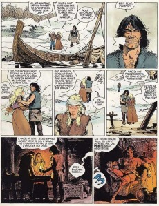Extrait de Thorgal - La collection (Hachette) -10- Le pays Qâ