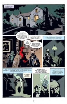 Extrait de Hellboy (Delcourt) -5- Le Diable dans la boîte