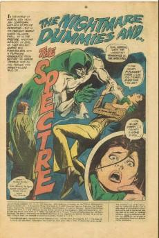 Extrait de Adventure Comics (1938) -434- The nightmare dummies and the Spectre