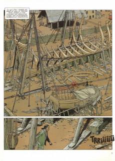 Extrait de L'Épervier (Pellerin) -2- Le Rocher du crâne