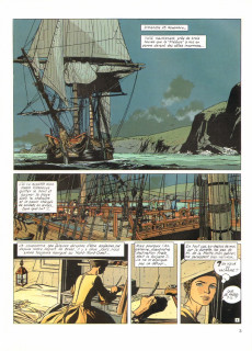 Extrait de L'Épervier (Pellerin) -4- Captives à bord