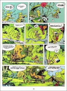 Extrait de Marsupilami - La collection (Hachette) -1- La Queue du marsupilami