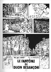 Extrait de Agathe et Lucas -1- Le fantôme du Dijon-Besançon