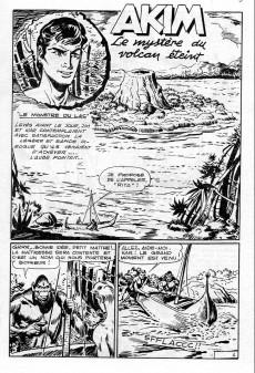 Extrait de Akim (3e série) -5- Le mystère du volcan éteint - le mystérieux minerai
