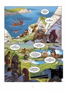 Extrait de Atalante - La Légende -6- Le Labyrinthe d'Hadès