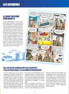 Extrait de L'Équipe de rêve - Légendes -5- Légendes du Sport automobile