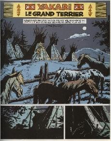 Extrait de Yakari -10- Le grand terrier