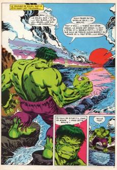 Extrait de Albums Artima DC/Marvel Super Star Géants - L'incroyable Hulk