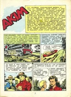 Extrait de Akim-Color -10- Le célèbre explorateur Berryl