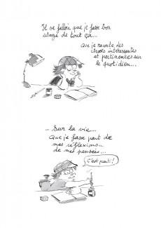 Extrait de Les carnets secrets de Guillaume Bianco -1- Les Seins