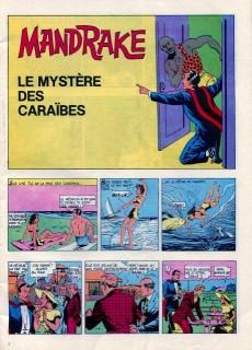 Extrait de Mandrake (1e Série - Remparts) (Mondes Mystérieux - 1) -447- Le mystère des Caraïbes
