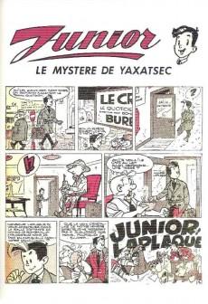 Extrait de Junior (les nouvelles aventures de) -2- Alerte au toufoulcan et le mystère de yaxatsec